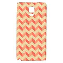 Modern Retro Chevron Patchwork Pattern Samsung Note 4 Hardshell Back Case