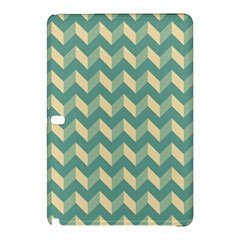 Mint Modern Retro Chevron Patchwork Pattern Samsung Galaxy Tab Pro 12 2 Hardshell Case