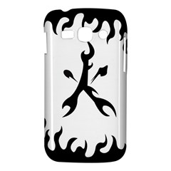 Kage Flame Phone Case Samsung Galaxy Ace 3 S7272 Hardshell Case