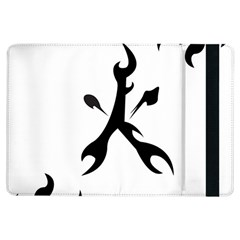 Kage Flame Phone Case Apple iPad Air Flip Case