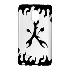 Kage Flame Phone Case Samsung Galaxy Note Edge Hardshell Case