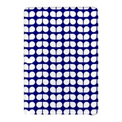 Blue And White Leaf Pattern Samsung Galaxy Tab Pro 10.1 Hardshell Case