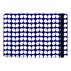 Blue And White Leaf Pattern Samsung Galaxy Tab Pro 10.1  Flip Case