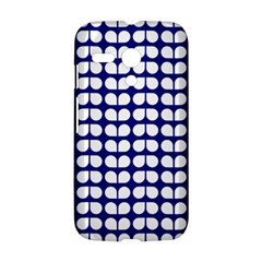 Blue And White Leaf Pattern Motorola Moto G Hardshell Case