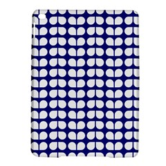 Blue And White Leaf Pattern Apple Ipad Air 2 Hardshell Case