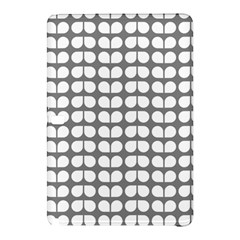 Gray And White Leaf Pattern Samsung Galaxy Tab Pro 10.1 Hardshell Case