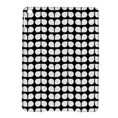 Black And White Leaf Pattern Apple iPad Air 2 Hardshell Case