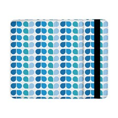 Blue Green Leaf Pattern Samsung Galaxy Tab Pro 8.4  Flip Case