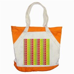 Colorful Leaf Pattern Accent Tote Bag