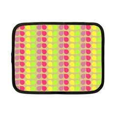 Colorful Leaf Pattern Netbook Sleeve (small)