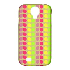 Colorful Leaf Pattern Samsung Galaxy S4 Classic Hardshell Case (pc+silicone)