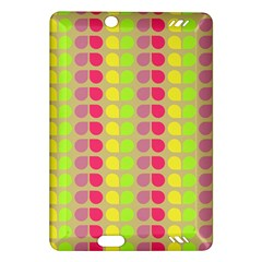 Colorful Leaf Pattern Kindle Fire HD (2013) Hardshell Case