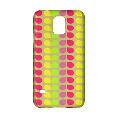 Colorful Leaf Pattern Samsung Galaxy S5 Hardshell Case