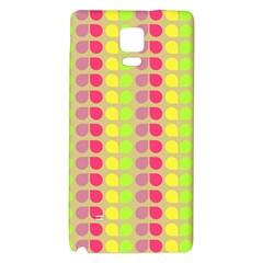 Colorful Leaf Pattern Samsung Note 4 Hardshell Back Case