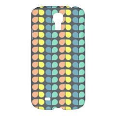 Colorful Leaf Pattern Samsung Galaxy S4 I9500/i9505 Hardshell Case
