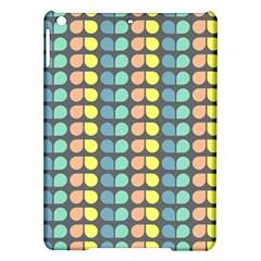 Colorful Leaf Pattern Apple iPad Air Hardshell Case