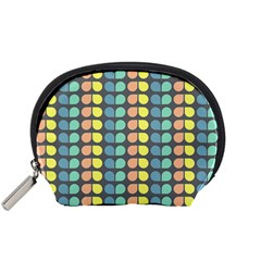 Colorful Leaf Pattern Accessory Pouch (Small)