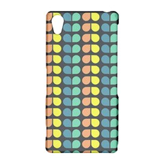Colorful Leaf Pattern Sony Xperia Z2 Hardshell Case