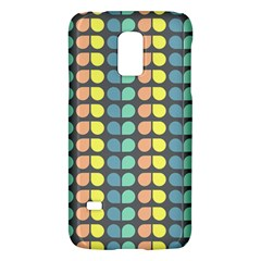 Colorful Leaf Pattern Samsung Galaxy S5 Mini Hardshell Case