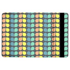 Colorful Leaf Pattern Apple Ipad Air 2 Flip Case