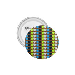 Colorful Leaf Pattern 1 75  Button