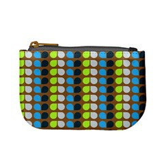 Colorful Leaf Pattern Coin Change Purse