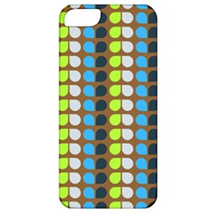 Colorful Leaf Pattern Apple Iphone 5 Classic Hardshell Case