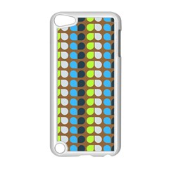 Colorful Leaf Pattern Apple Ipod Touch 5 Case (white)
