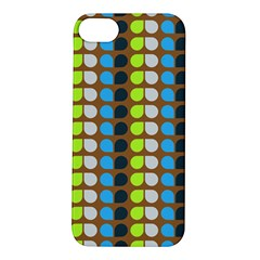 Colorful Leaf Pattern Apple Iphone 5s Hardshell Case