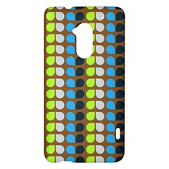 Colorful Leaf Pattern HTC One Max (T6) Hardshell Case
