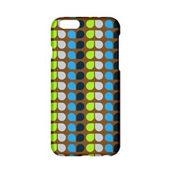 Colorful Leaf Pattern Apple iPhone 6 Hardshell Case