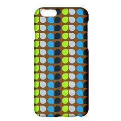 Colorful Leaf Pattern Apple iPhone 6 Plus Hardshell Case