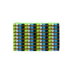 Colorful Leaf Pattern Cosmetic Bag (xs)