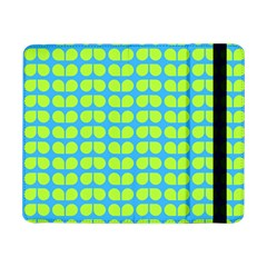 Blue Lime Leaf Pattern Samsung Galaxy Tab Pro 8.4  Flip Case