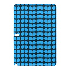 Blue Gray Leaf Pattern Samsung Galaxy Tab Pro 12.2 Hardshell Case