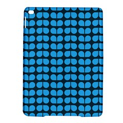 Blue Gray Leaf Pattern Apple iPad Air 2 Hardshell Case