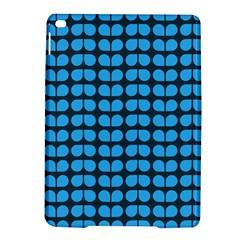 Blue Gray Leaf Pattern Apple Ipad Air 2 Hardshell Case