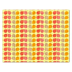 Colorful Leaf Pattern Jigsaw Puzzle (rectangle)