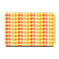 Colorful Leaf Pattern Small Door Mat