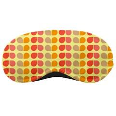Colorful Leaf Pattern Sleeping Mask