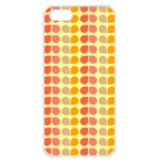 Colorful Leaf Pattern Apple iPhone 5 Seamless Case (White) Front
