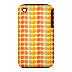 Colorful Leaf Pattern Apple iPhone 3G/3GS Hardshell Case (PC+Silicone)
