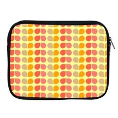 Colorful Leaf Pattern Apple Ipad Zippered Sleeve