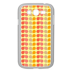 Colorful Leaf Pattern Samsung Galaxy Grand Duos I9082 Case (white)