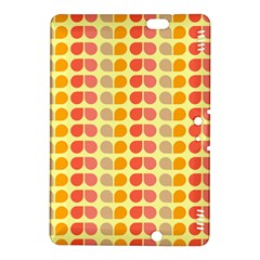 Colorful Leaf Pattern Kindle Fire HDX 8.9  Hardshell Case