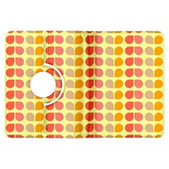 Colorful Leaf Pattern Kindle Fire Hdx Flip 360 Case