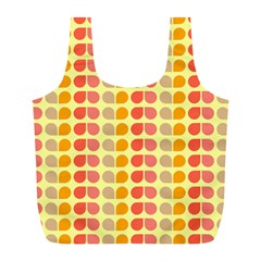 Colorful Leaf Pattern Reusable Bag (l)