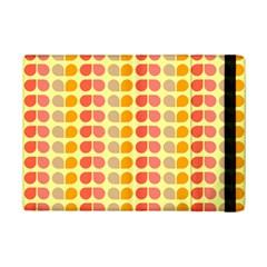 Colorful Leaf Pattern Apple iPad Mini 2 Flip Case