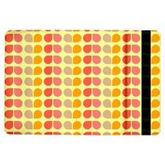 Colorful Leaf Pattern Apple iPad Air Flip Case