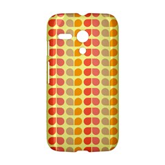 Colorful Leaf Pattern Motorola Moto G Hardshell Case